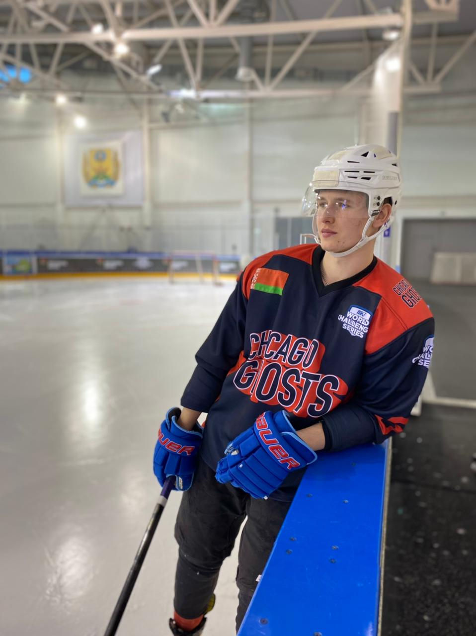 Mikhail Romanov — young, but experienced defender with a dream about Olimpics gold medals.